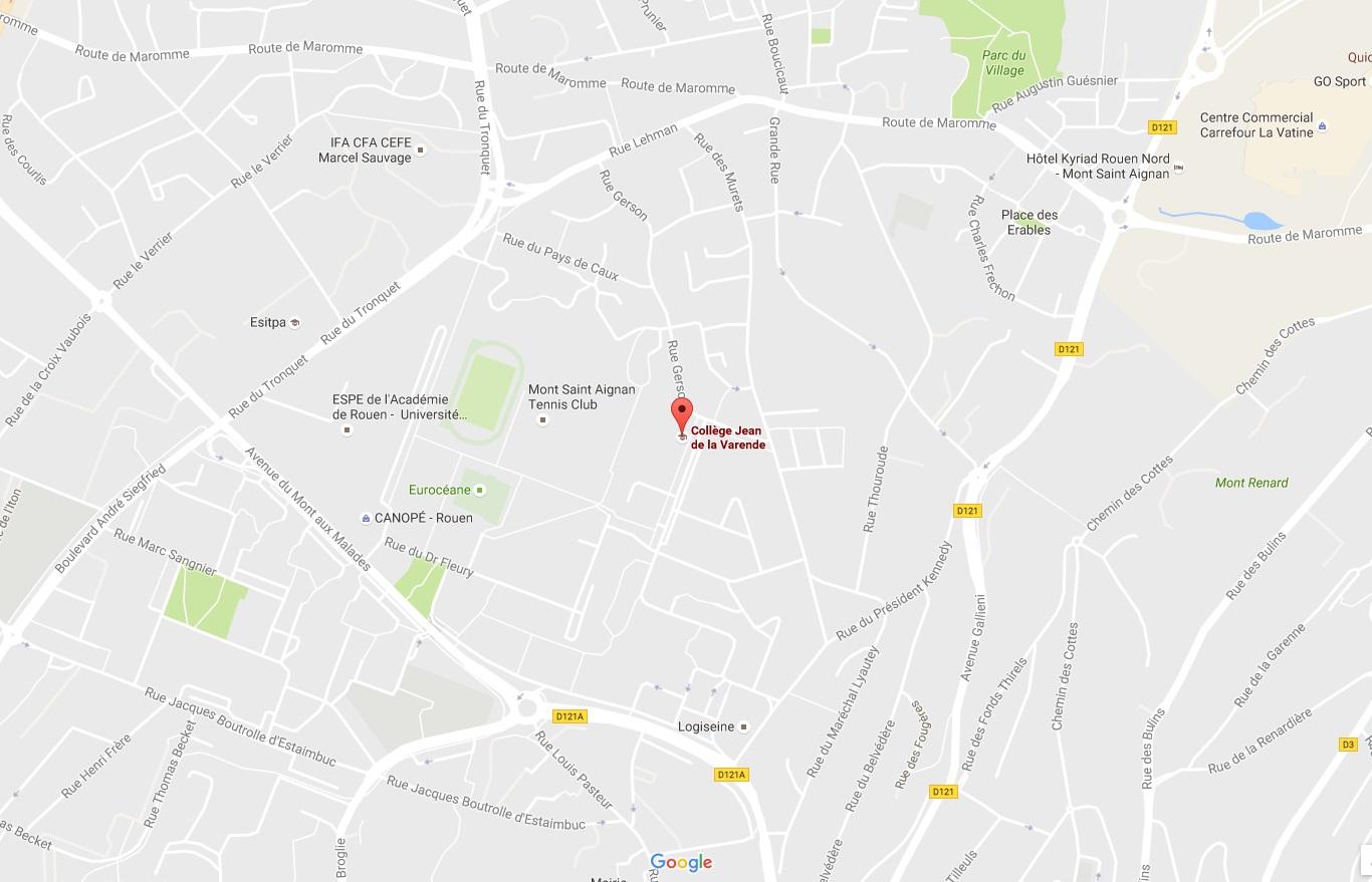 le collège dans Mont-Saint-Aignan
